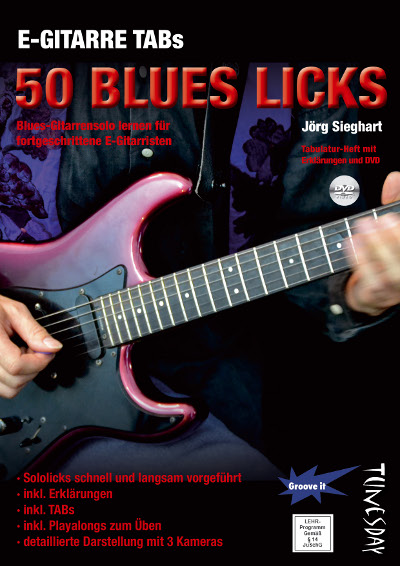 E-Gitarre Blues Licks