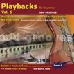 CD-Cover Playbacks für Drummer Vol.6 - odd Grooves - Drum Playalongs mit ungeraden Takten