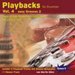 CD-Cover Playbacks für Drummer Vol.2 - easy Grooves 1 - Rock Pop