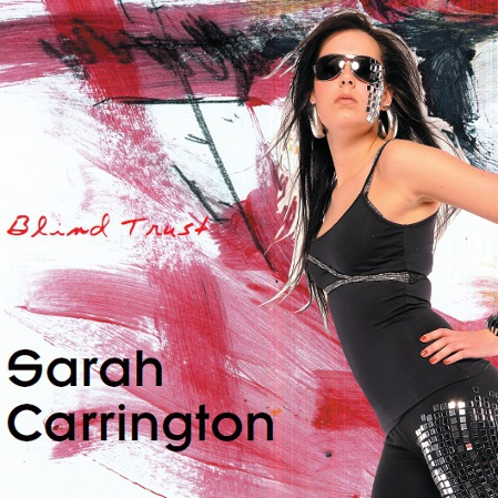 "Sarah Carrington ""Blind Trust"" CD-Cover"
